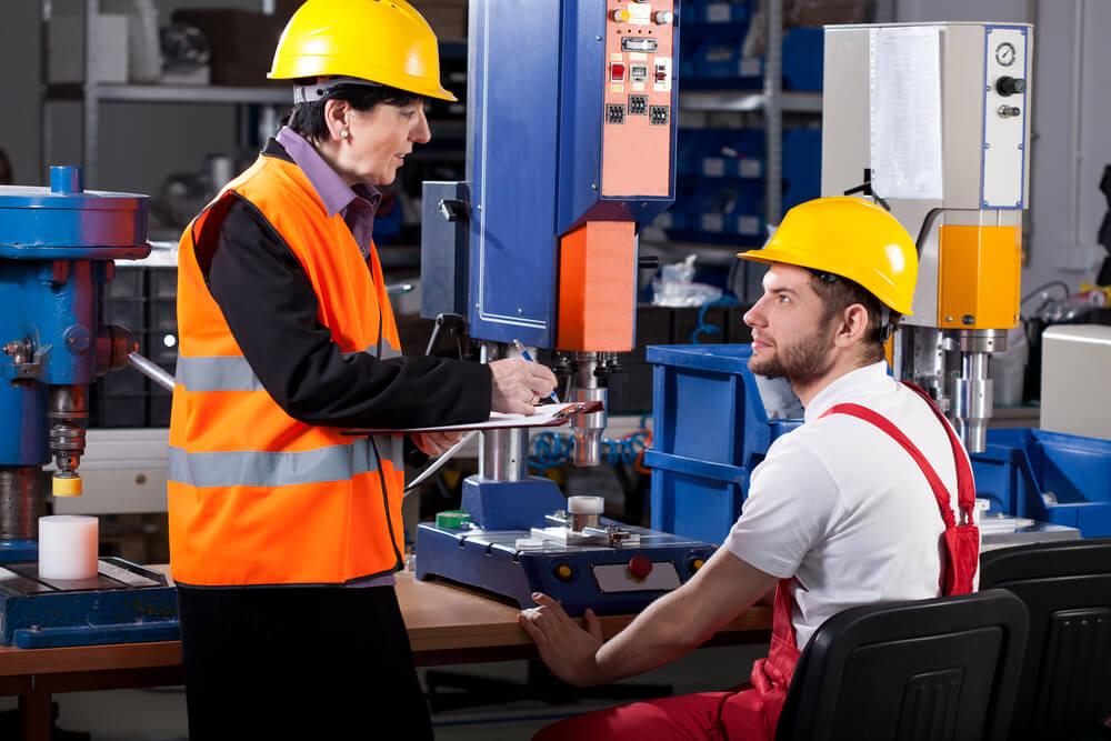Treinamento de segurança no trabalho