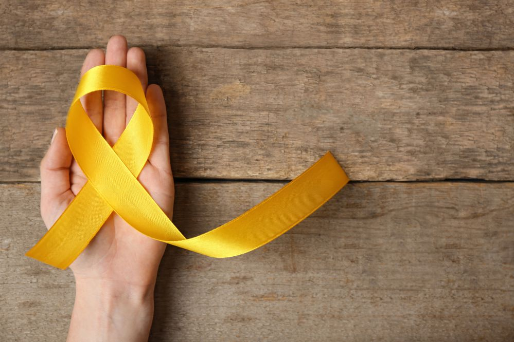 Laço do movimento Maio Amarelo